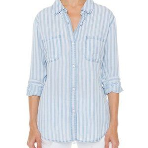Rails Carter Shirt in Chalk Stripe